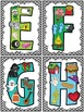 Certainly Chevron -Black- Phonics Alphabet Poster Set
