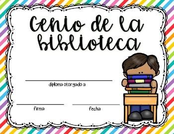 Certificados de fin de ano/ End of year awards in spanish - Editable