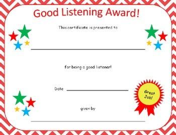 Certificate Awards in Chevron {editable}