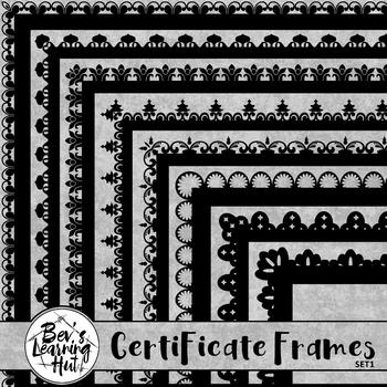 Certificate Frames 1