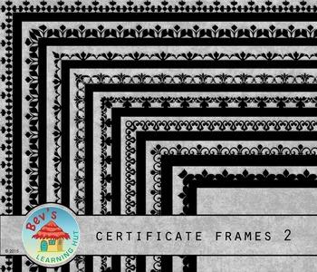 Certificate Frames 2