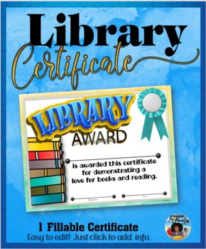 Library Certificate 2