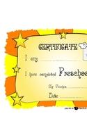 Certificate for Preschool