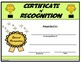 Certificate of Recognition - Editable