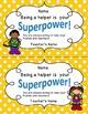 Superhero Certificates and Awards (Editable)