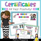 Award Certificates (End of Year, Everyday)