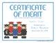 Certificates: 6 Graduation Kids Awards - Modifiable PDFs