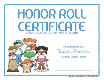 Certificates: 6 Kids 1 Awards - Modifiable PDFs
