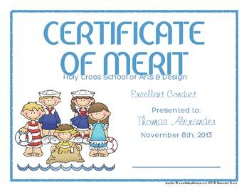 Certificates: 6 Sailors Awards - Modifiable PDFs