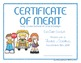 Certificates: 6 School Bus Awards - Modifiable PDFs