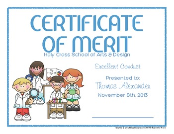 certificates 6 science kids awards modifiable pdfs by creative