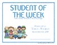 Certificates: 6 Woodsy Kids Awards - Modifiable PDFs