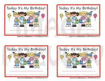 Certificates Birthday