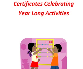 Certificates For All Year