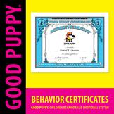 Behavior Certificates . Child Behavioral & Emotional Tools