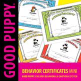 Behavior Certificates Mini . Child Behavioral & Emotional