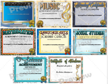 Certificates Variety Pack