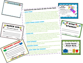 Certificates and Awards to Use in the Classroom