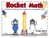 Certificates for Rocket Math