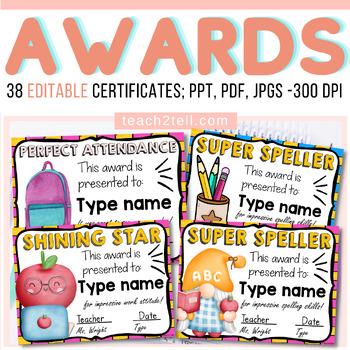 {EDITABLE} CERTIFICATES OF APPRECIATION