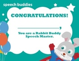 Certificates of Speech Sound Mastery
