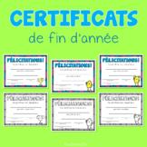 Certificats Scolaires   2019-2020