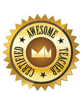 Certified Awesome Teacher Seal Clipart – FREE Clip Art - Artwork Series