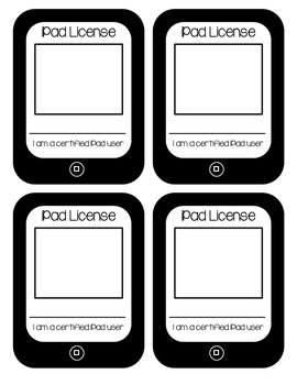 iPad Licenses (for certified classroom iPad users)
