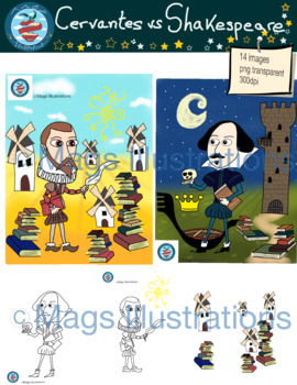 Cervantes vs Shakespeare, literature, reading, Spain, UK