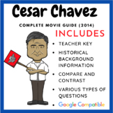 Cesar Chavez - Movie Guide and Graphic Organizer