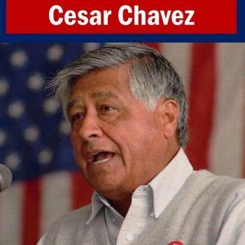 Cesar Chavez PowerPoint | Cesar Chavez Lesson Activity