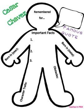 Cesar Chavez {Character Man}