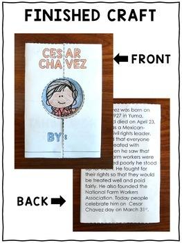 Hispanic Heritage Craft - Cesar Chavez Activity