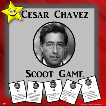 Cesar Chavez Scoot Game