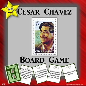 Cesar Chavez Board Game