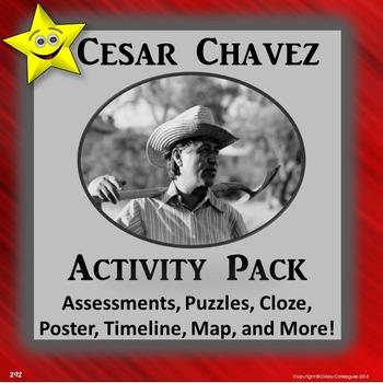 Cesar Chavez Activity Pack
