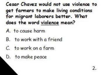 Cesar Chavez Challenge Game