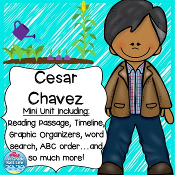 Cesar Chavez Worksheet Teaching Resources | Teachers Pay Teachers