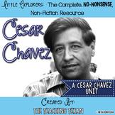 Cesar Chavez:  A Non-Fiction Cesar Chavez Unit