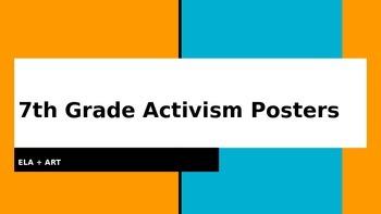 Cesar Chavez Activism Poster Project PowerPoint