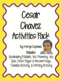 Cesar Chavez Activities Pack