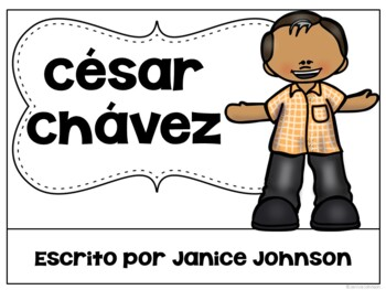 César Chávez & Anthony Romero Readers {Hispanic Heritage} Bilingual Bundle