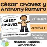 César Chávez & Anthony Romero Readers {Hispanic Heritage Month} Spanish version