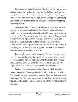 Cesar Chavez, Dolores Huerta, & the United Farm Workers