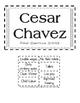 Cesar Chavez Flip Book Activity