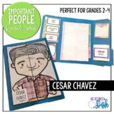 Cesar Chavez Important People Research Lapbook