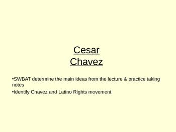 Cesar Chavez Lecture