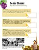 Cesar Chavez - Main Points and Ideas, and Summarizing a Text