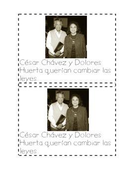 Cesar Chavez Mini Book