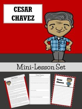 Cesar Chavez Mini-Lesson Set